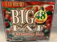Big Fat Christmas Box [Box] by Various Artists (CD, Mar-2009, 3 Discs, Infinity