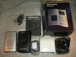 New GRUNDIG eTraveller VII AM / FM Radio Short Wave Portable