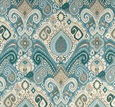 Outdoor/ Indoor ~ Upholstery ~ BOHO ~ Light Blue ~ Fabric~  per 1 yard