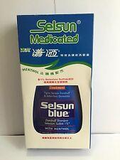 Selsun Medicated Treatment Dandruff Shampoo With Menthol 11oz
