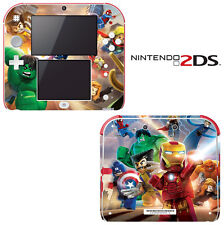 Vinyl Skin Decal Cover for Nintendo 2DS - Super Heroes