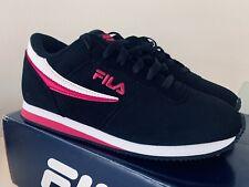 Fila Machu women's sneakers shoes size 8.5 black/pink/white 5RM01055-020