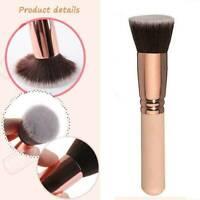 Pro Large Flat Top Powder Foundation Bronzer Blusher Contour Brush Makeup Tool