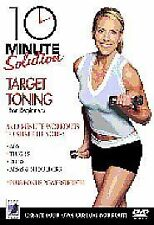 10 Minute Solution - Target Toning DVD exercise fitness workout  free uk post