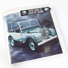 Land Rover 1948 R04 Sound Greeting Card