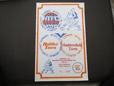 Halifax V Huddersfield   1974/5