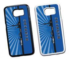 Samsung Galaxy Hamburg Skyline Hard Tasche Flip Hülle Case Cover Schutz Handy