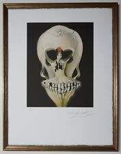 "Salvador Dali ""Ballerina as a dead head"" Lithograph Limited 2000 pcs."