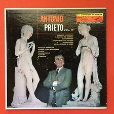 Antonio Prieto Su Cancion Favorita Vol III Bolero Tango RCA