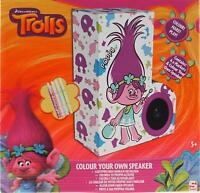 Trolls Colour And Make Your Own Speaker - Poppy