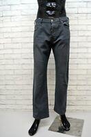 ARMANI JEANS Pantalone Grigio Corto Uomo Taglia 52 Pants Men's Jeans Herrenhose