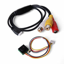 Wired Mini Audio Video AV Security Camera Color CCTV Cam Surveillance CN157