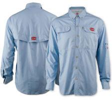 Penn Long Sleeve Performance Fishing Shirt 2xl Mens Blue Lsvpensdbluxxl