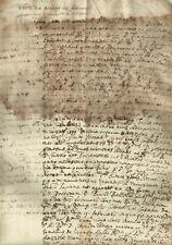 Casale Monferrato Ordine di Carcerazione di Flaminio Mola  1607