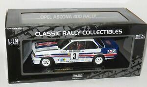 1/18 Opel Ascona 400  Rothmans  Rallye Monte Carlo 1983  A.Vatanen / T.Harryman