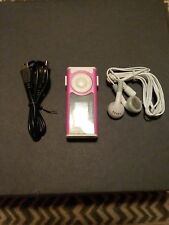 NEW PINK DIGITAL MP3 PLAYER/HEADPHONES/CHARGER BUNDLE