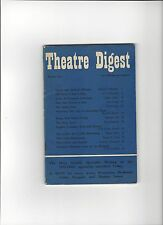 1950s Theatre Digest Magazine No 5