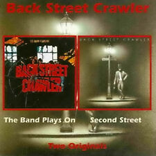 "Back Street Crawler:  ""The Band Plays On & Second Street""  (2on1 CD Reissue)"