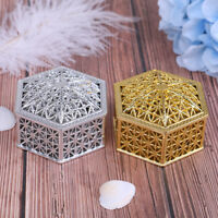 Boîte à bonbons en plastique créatif hexagonal mariage boîtes à friandises