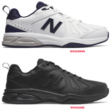 New Balance 624 V5 Mens (2E) Wide, Latest Model, Crosstrainer Leather Work Shoes