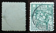 1924 LIBIA  20 centesimi  sibilla  usato