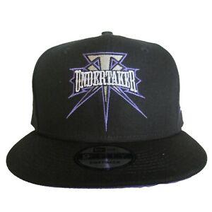 New Era WWE WWF Undertaker 9Fifty 950 Black Purple Snapback Hat Cap