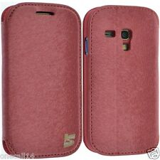 Per SAMSUNG GALAXY S3 MINI I8190 IN PELLE PORTAFOGLIO SMART FLIP COVER Nizza HOT
