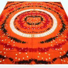 Colcha Edredón Bandhani Batik hecho a mano Tie Dye PAÑUELO Decoración India 2