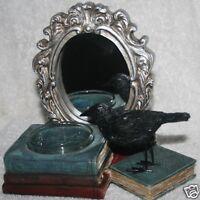 Yankee Candle SPELLBOUND MIRROR MIRROR Tea Light Holder Crow Raven Halloween