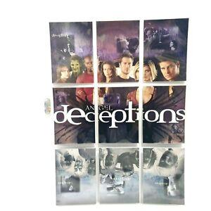 Angel Season 4 Deceptions 9 Foil Puzzle Set D1-D9 Inkworks Trading Cards 2003
