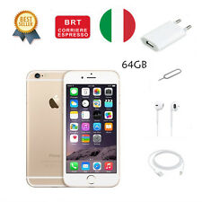 GOLD NERO NUOVO APPLE IPHONE 6 64 GB SIGILLATO GARANZIA ITALIA Smartphone