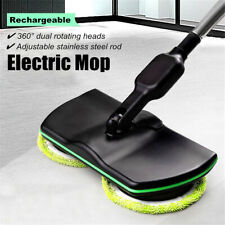 Wireless Rotary Rechargeable Electric Mop Floor Cleaner Scrubber Polisher Home