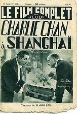 LE FILM COMPLET DU JEUDI,1936,CHARLIE CHAN A SHANGAI,OLAND,FOX FILM