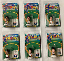 Lot Of 6 Jay Bell Micro Stars Collector's Series 1995 Mlb Pirates Baseball Toys