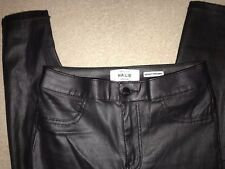 New Look Faux Leather Wet Look Hallie Jeans 10 L30