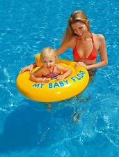 Intex My Baby Float Swimming Seat 6-12 Months Swim Aid with Head Support