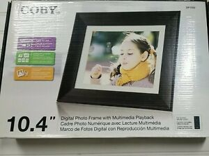 "Coby 10.4""  Digital Photo Frame With Plug & Play New in Box DP1052 A1"