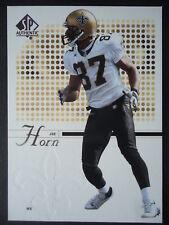 NFL 55 Joe Horn New Orleans Saints Upper Deck 2002 SP Authentic
