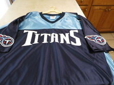 NWT Vintage TENNESSEE TITANS jersey size EXTRA LARGE FREE S/h