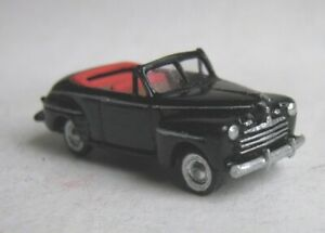 TT scale (1:120) model of the Biff Tannen's car 1946 Ford convertible