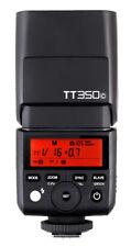 2pcs Godox Tt350c 2.4g 1/8000s Speedlite X1t-c Trigger for Canon Mirrorless Kit