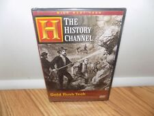 Wild West Tech - Gold Rush Tech (DVD, 2007) History Channel - BRAND NEW!