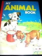 MY ANIMAL BOOK VINTAGE HARDCOVER CHILDREN'S BOOK PRINTED IN HOLLAND