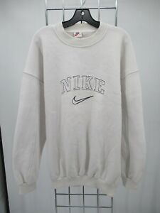I8225 Nike Spell-Out Crewneck Pull-Over Sweatshirt Size 2XL