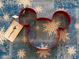 Walt Disney World Mickey Mouse Metal Color Coated Cookie Cutter New