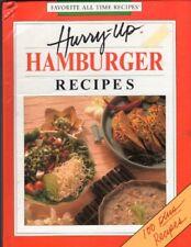 Hurry-Up-Hamburger Recipes