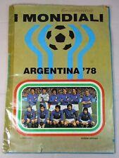 ALBUM FIGURINE CALCIATORI COPPA DEL MONDO ARGENTINA 78 1978 ED. FLASH UFFICIALE