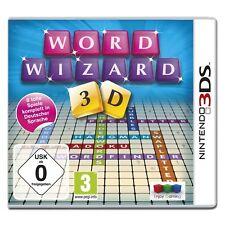 Word Wizards 3D Nintendo 3DS NIP