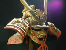Japanese Vintage Helmet Samurai Kabuto -Yoshitsune's helmet- with a mask