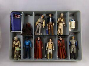 Vintage 1978 Star Wars Figures w/Carrying Case Kenner 092321DMT
